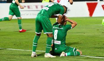 """Футболист на """"Лудогорец"""" е със счупена челюст след мача с """"Жрински"""" в Лига Европа"""