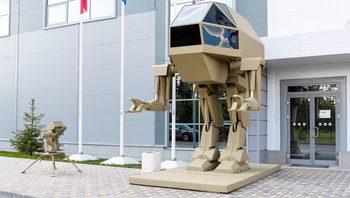 """Фотогалерия: """"Калашников"""" показа проект за 4.5-тонен крачещ робот"""