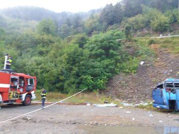 Пострадалите при катастрофата край Своге ще получат социална помощ до 375 лв.