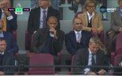 Роберто Мартинес и Тиери Анри гледат Уест Хем – Ман Юнайтед