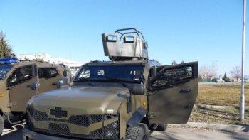 Техника и въоръжение показват на паркинга на Военния клуб в Плевен