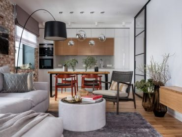 Стил и функционалност – Модерен апартамен в еко стил [+Видео обиколка]