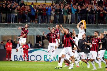 """""""Милан"""" взе първа победа за сезона с гол в 95-ата минута срещу """"Рома"""""""