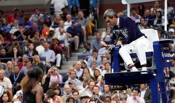 Международната федерация по тенис защити съдията от женския финал на US Open