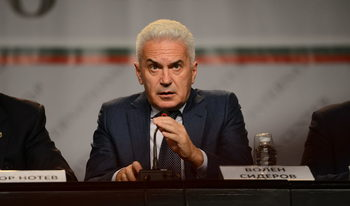 Сидеров за зам.-председателя на ВМРО: Той е от партията на Бареков
