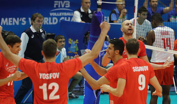 С настроение волейболистите постигнаха разгромна победа срещу Куба на световното