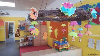 На детска градина в Германия: навън, дори и да вали, телевизия – недопустимо