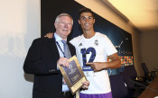 Роналдо отново стисна ръката на великия сър Алекс