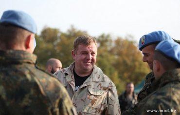 Военният министър: Армията ни ще съществува, защото има доблестни воини!