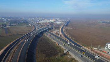 Движението по Околовръстния път на София е ограничено в района на Казичане