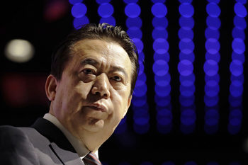 Китай потвърди, че разследва президента на Интерпол за корупция