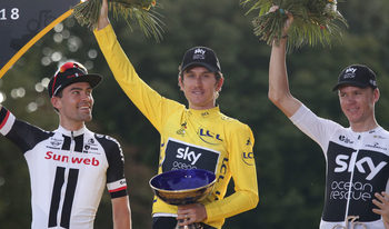 """Трофеят на победителя от """"Тур дьо франс"""" е бил откраднат в Бирмингам"""