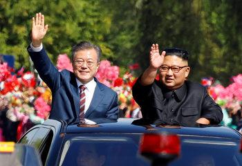 Президентът на Южна Корея идва в Европа с надежда Брюксел да се ангажира с Пхенян