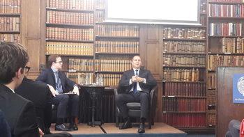 Президентът в Оксфорд: България формира външната си политика според морални ценности