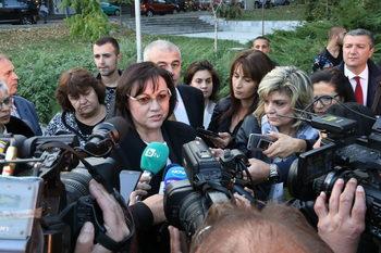 Думите на Борисов са по-цинични и от тези на Симеонов, смята Нинова
