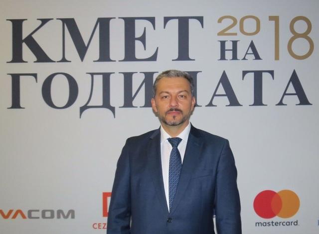 "Д-р Иван Иванов спечели приза ""Кмет на годината"""