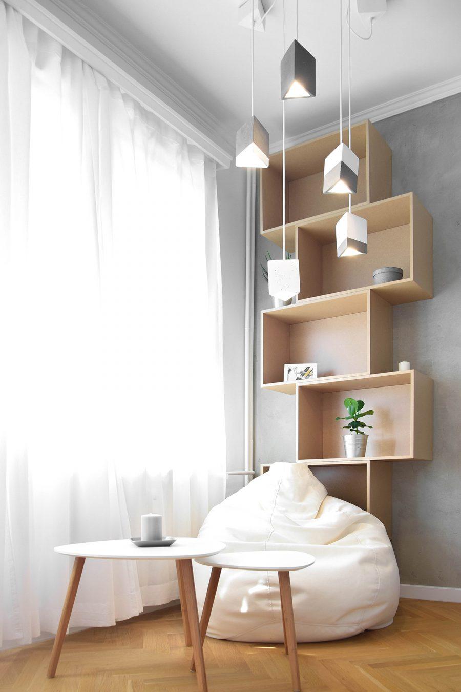 Нов интериорен дизайн за стар апартамент в Лозенец, София