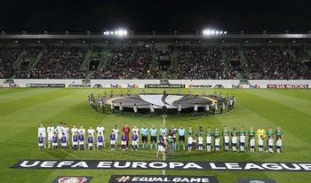 """НА ЖИВО: """"Лудогорец"""" търси първа победа в Лига Европа"""