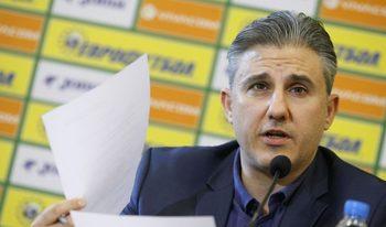 """Заместник-изпълнителният директор на БФС ще поеме управлението на """"Левски"""""""