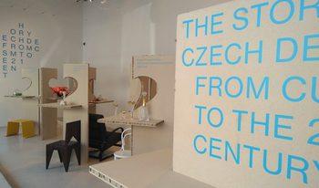 Изложба представя историята на чешкия дизайн между кубизма и 21 век