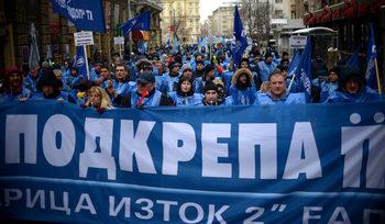 Протестът на миньорите може да се пренесе в Брюксел, предупреди синдикален лидер