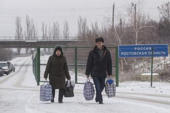 Властите в Крим строят близо 60-километрова стена по границата с Украйна