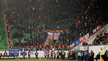 """""""Челси"""" осъди антисемитски скандирания на феновете си в мача с """"МОЛ Види"""""""