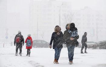 Жълт код за силен вятър и снежни виелици е обявен за 9 области днес