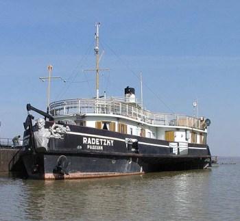 """Кампания за спасяване на кораба """"Радецки"""""""