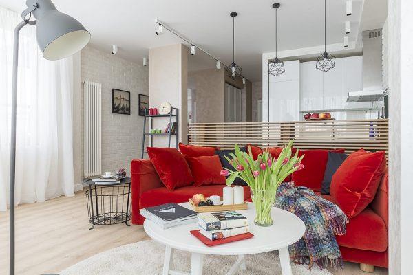 Свеж и просторен двустаен апартамент от Archaspetto [63 м²]
