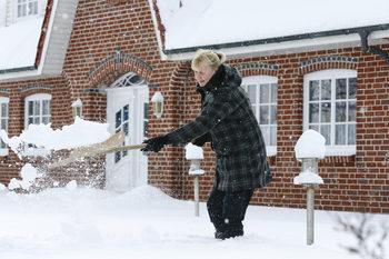 Кой чисти снега пред германските жилища