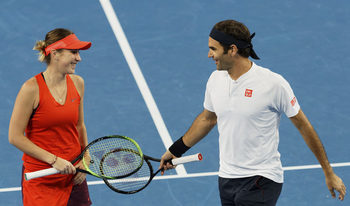 """Федерер и Бенчич защитиха титлата в """"Хопман къп"""" в драматичен мач на двойки"""