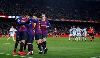"""Барселона"" стигна до скромна победа в мач с неочаквани трудности"