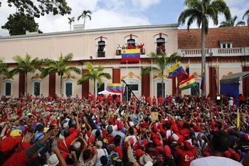 Графика на деня: Венецуела, страната с двама президенти