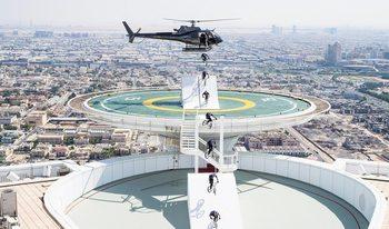 Видео: Скок от небесата и приключение на две колела в Дубай