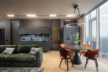Модерен апартамент с уникален изглед към Черно море [69 м²]