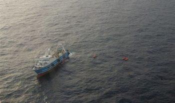 Японски риболовен кораб е задържан от руските власти и плава към руското далекоизточно пристанище Находка