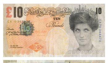 Банкнота на Банкси влиза в Британския музей
