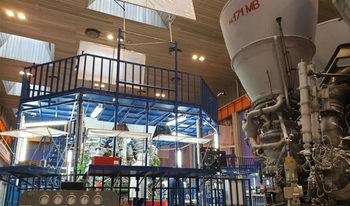 """Рогозин показа прототипа на ракетен """"цар-двигател"""" – най-мощният в света"""