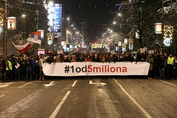 Сръбската опозиция обяви бойкот на парламента и поиска избори