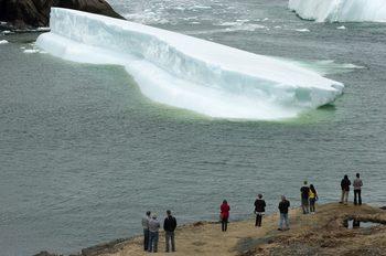 Крадци в Канада задигнаха 30 тона вода от айсберг, използвана за водка