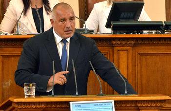 Борисов за Изборния кодекс: Парламентарната група решава тези въпроси, не им се бъркам