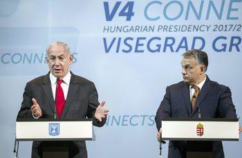 Спорът на Полша с Нетаняху помрачава първата среща на Вишеградската група в Израел