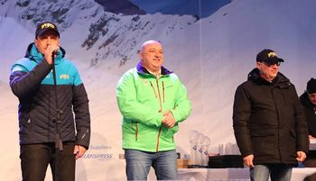 Цеко Минев награди Кралев за успешно развитие на ски спорта в България