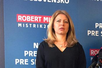 Адвокат на екокаузи води преди изборите за президент на Словакия