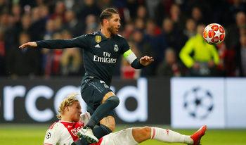 Серхио Рамос е наказан за два мача заради умишлен жълт картон