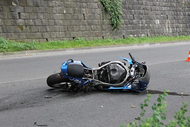 Отново катастрофа с моторист, този път край Дряновския манастир