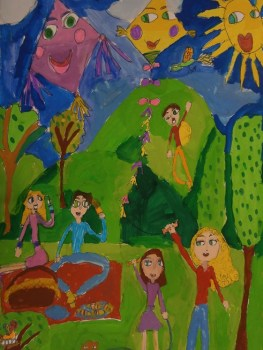 """Четиригодишен художник от арт школа """"Колорит"""" с медал от национален конкурс"""