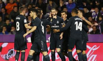 """""""Реал"""" (Мадрид) прекъсна серията от загуби с успех над """"Валядолид"""""""