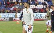Манолас в състава на Рома срещу Каляри